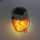 LEDの屋外のための太陽多色刷りのホタルの瓶の点滅ライト