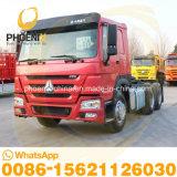 Vrachtwagen van de Tractor van het Paard van de Prijs 375HP 6X4 Sinotruk HOWO van de bevordering de 10tyres Gebruikte met Sterke Kwaliteit voor de Verkoop van Afrika