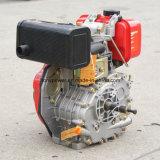 Motor diesel de un solo cilindro, Vertrical, 4 tiempos, refrigerado por aire de 8.5 CV