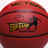 Баскетбол нормального размера 7 прокатанный PU тренируя