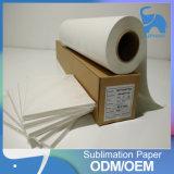 Transferencia de calor de sublimación de impresión del rollo de papel
