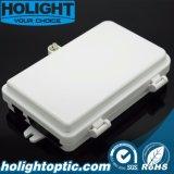 Núcleo de fibra óptica de 1-4 al aire libre Caja de distribución /Caja de plástico