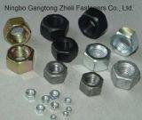 Noix Hex lourdes galvanisées de l'aperçu gratuit GB6170 de Yello