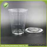 copo 16oz/500ml plástico descartável duro por atacado feito sob encomenda com tampas