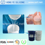 Силиконовая резина медицинской ранга RTV-2 для того чтобы сделать удобные пятки силикона