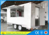 Alimento blanco Van del carro de los alimentos de preparación rápida de la alta calidad de Ys-Fb390A