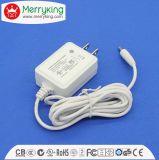 adaptateur d'alimentation de l'adaptateur 10W à C.A. 5V/2A ou de C.C pour la norme d'UL de plugin de téléphone cellulaire
