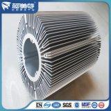 De hoge Zon Bloem Geanodiseerde Heatsink van het Aluminium van de Tolerantie Standaard