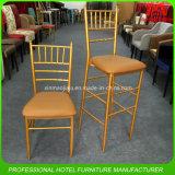 Металла Wholeslae цены фабрики стул венчания Chiavari дешевого стального золотистый