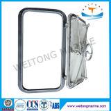 Puertas herméticas del acero de Alunimun Wheathertight de la nave marina de China