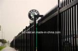 錬鉄の塀のゲート0を滑らせるHaohanの良質の外部の機密保護