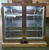 refrigeratore della barra della parte posteriore del dispositivo di raffreddamento della birra del portello scorrevole del doppio 210L da refrigerazione dell'apex