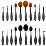 10 PCS Set Make up Pinsel / 10PCS Zahnform Make up Pinsel / Tootth Form Kosmetik Pinsel Fall
