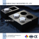 Magic Compressed Corner Towel with Black Resin Trays