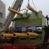 PLC 운영 낭비 금속 합금 강철 포장기 기계
