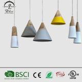 Un éclairage moderne de style pour le café en bois aluminium&Boutique de décoration lampes Conicle Poignée de commande