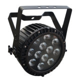 12X12W 6 in 1 Hexa Farben-Disco-Stadium LED NENNWERT Licht mit Powercon
