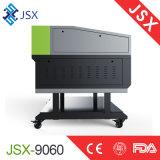 Jsx9060 80W Gewebe-Leder-Acrylpanels, die Ausschnitt-Stich-Laser-Maschine schnitzen