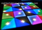 결혼식 DJ 당 100cm*100cm 720PCS 아크릴 다채로운 LED 댄스 플로워 빛을%s LED 댄스 플로워