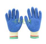 Seeway Work Gloves Хлопок Welding Gloves Latex Palmcoated Перчатки