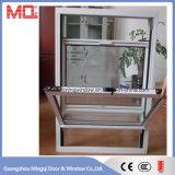 Alluminio americano di stile in su giù la finestra di scivolamento