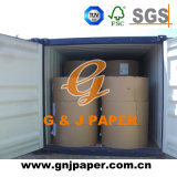 60GSM 70GSM 80GSM Papier décalé non revêtu avec emballage en bobine