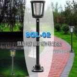 Lampe solaire LED à gazon de haute qualité pour l'extérieur