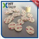 puntos echados a un lado dobles de la cinta adhesiva de los 3m Vhb