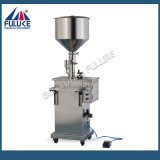 Crema pneumatica Semi-Automatica della piccola scala di Fgj/Llotion/macchina di rifornimento liquida