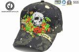 偶然様式および綿3Dの刺繍の野球帽