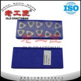 Alta qualidade para o calço Icsn 633 da inserção do carboneto de tungstênio da dureza
