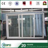 Portello scorrevole di vetro australiano dei portelli interni di standard UPVC