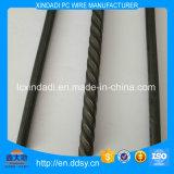4mm Draad van het Staal van het Ijzer of niet van de Legering met Spiraalvormige Ribben