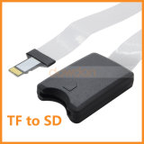 Micro SD / TF à rallonge de câble adaptateur de carte SD de l'extension flexible pour GPS TV Mobilphone