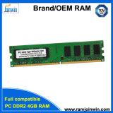 低密度PC2-6400 800MHz DDR2のRAM 4GB