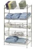 NSF Metal Removable Metal Rack de almacenamiento inclinado para Hospital / Farmacia (SL186078A6CW)