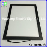 A2 Tamanho montado na parede 100V - 240V Custom Snap Frame Poster Holder LED Menu Light Box