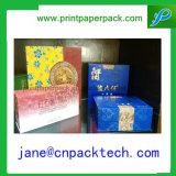 Коробка вина благосклонности коробок подарка способа бумажной напечатанная таможней упаковывая