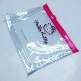 Bolsa de PVC transparente de impressão personalizada com padrão Hello Kitty