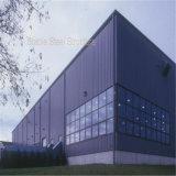 La conception de structure en acier de l'entrepôt de l'atelier de fabrication de la construction avec la certification CE