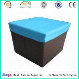 Ткань 100% полиэфира для делать коробки хранения