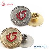 Pin de encargo de la solapa de la divisa del oro del esmalte de la fábrica
