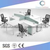 現代家具のコンピュータ表の木の机のオフィスワークステーション