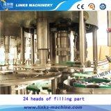 Terminar a planta de enchimento da água da bebida do gás