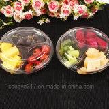 caixa plástica transparente da fruta da caixa descartável da fruta 400g
