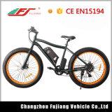 Fetter Gummireifen-elektrisches Fahrrad der Qualitäts-48V 10.4ah mit Cer En15194