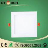 Indicatore luminoso di comitato quadrato di Ctorch LED di alta qualità 6W con Ce