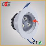 18W/24W 6 pouce vers le bas LED feux avec driver intégré lampes LED Downlight Led Spot Utilisation de bureau