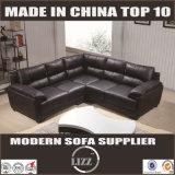 Modernes modernes L Form-Leder-Sofa Lz371b