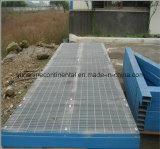 Calzada Grating de acero galvanizada de la plataforma de la prolongación del andén